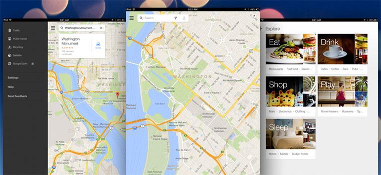 Η Google αναβαθμίζει τους χάρτες της και το YouTube