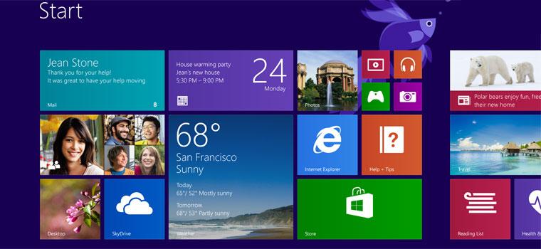 Ανανεωμένη έκδοση 8.1 των Windows της Microsoft