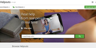 Helpouts: Νέα υπηρεσία από την Google
